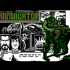 The Vindicator / Green Beret II © 1988 Imagine Software per Amstrad CPC.
