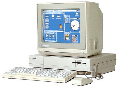 Il primo modello di Amiga, oggi conosciuto come Amiga 1000