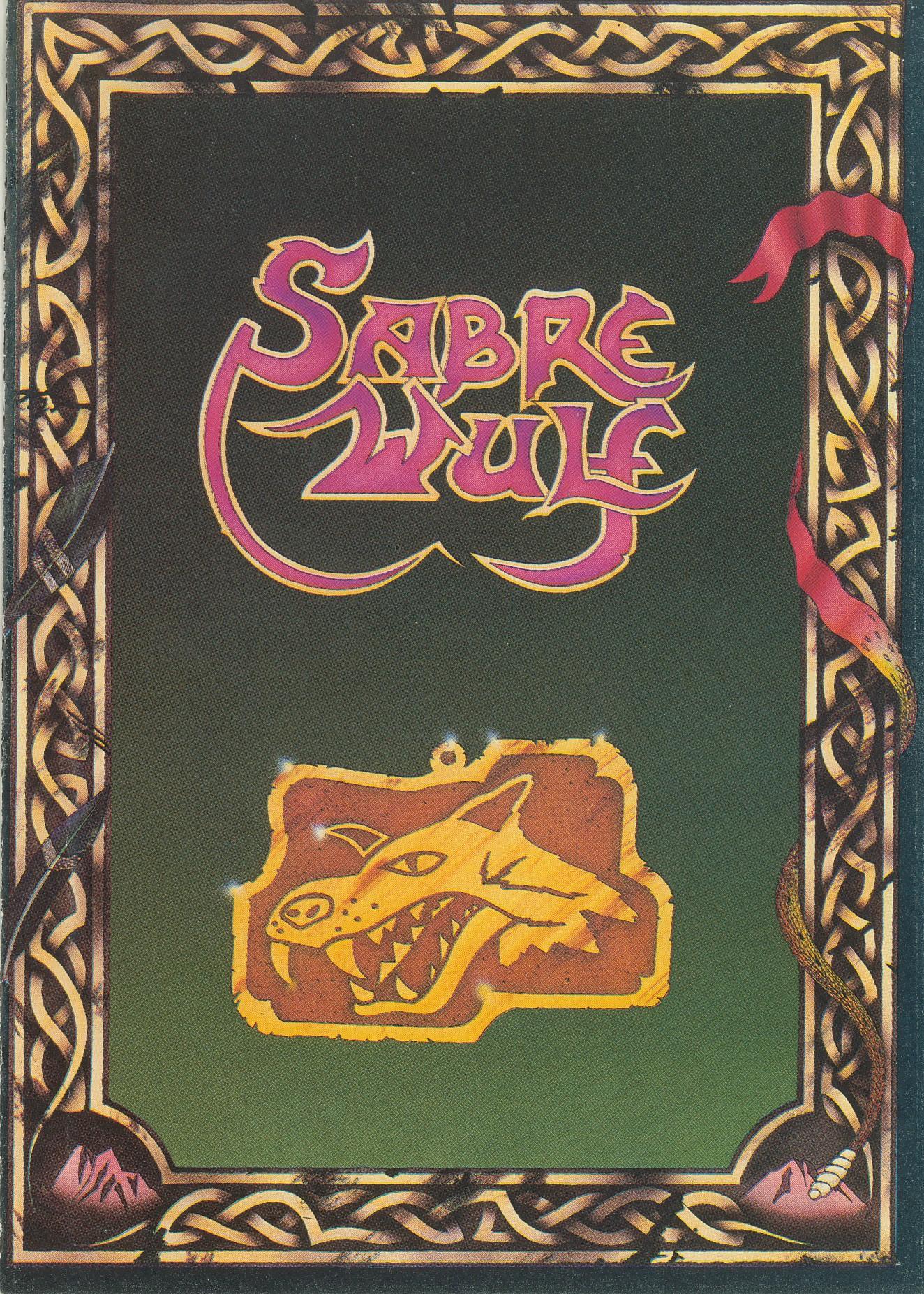 La cover di Sabre Wulf. Valeva davvero la pena pagare il doppio per questa?...