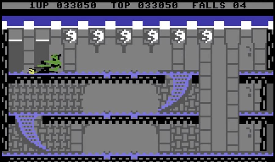 Uno fra gli schermi più singolari ed evocativi del gioco.
