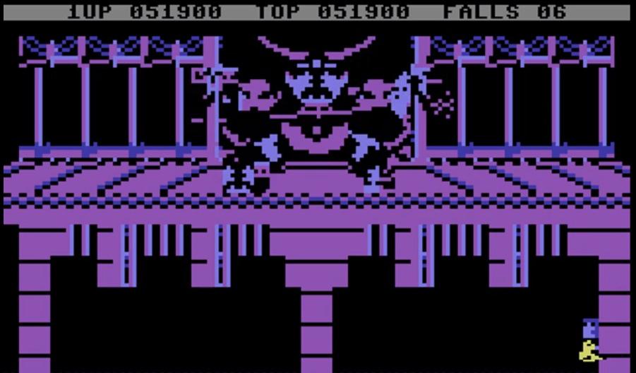 Il temibile Fire Wizard, boss finale del gioco. Non fidatevi delle apparenze, vi farà passare un brutto quarto d'ora.