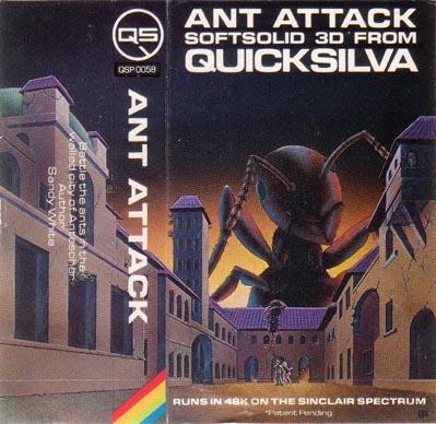 Ant Attack by Quicksilva... un capolavoro senza tempo... non potete vivere senza!
