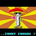 """Funky Fungus SE NE FREGA dei pericoli! Impavido e munito di OCCHIALONI NERI si appresta a fare pulizia delle armate di Seito Taisho a colpi di """"stellate rotanti""""..."""