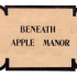 La rece di Beneath Apple Manor © 1978 Software Factory