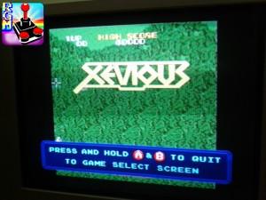 La scritta che vedete in basso appare e scompare continuamente quando il gioco è in gameover. Ovviamente durante il gioco non si vedrà.