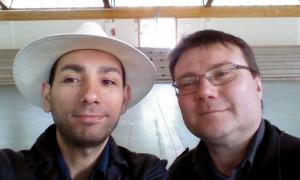 "Con Fabio Peroni un ""selfie""..."