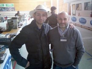 Insieme a Giancarlo Oneglio, genio della programmazione e indiscusso collezionista dei Sega Computer.