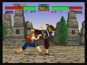 Una delle Killer Applications del Saturn. Virtua Fighter 2. Con SSF lo potrete ricreare in emulazione.