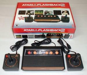 A partire dalla seconda incarnazione dell'Atari Flashback le cose si fecero interessanti....