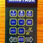 Un dettaglio di uno degli overlays inclusi nell'Intellivision FB.