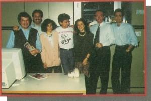 Da sinistra a destra : Angelo Cattaneo — Filippo Canavese — Cristina Turra — Fabio Rossi — Elena Ferrè — Ambrogio Isacchi — Massimiliano Anticoli