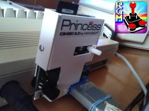 C64,Princess e Datassette in cascata